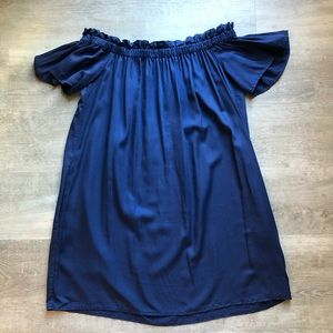French Connection off the shoulder dress size 6